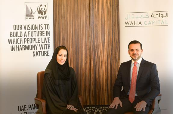 Waha Capital partners with Emirates Wildlife Society-WWF to raise awareness on climate change amongst youth